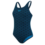 Ladies Boomstar Allover Muscleback - Navy/Blue