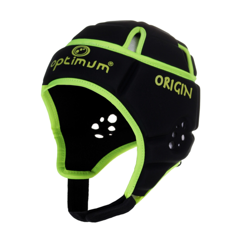 Optimum Origin Headguard - Black/Neon Yellow