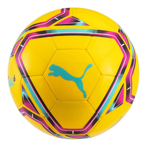 Final 6 MS Training Football - Fluo Yellow/Blue/Red
