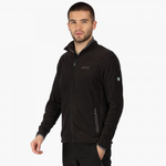 Men's Stanton II Mid Weight Full-Zip Fleece - Black/Seal Grey