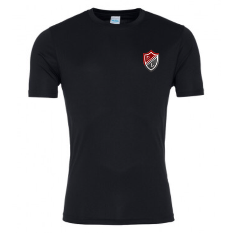 Preston Lodge HS Poly Tee - SNR Black