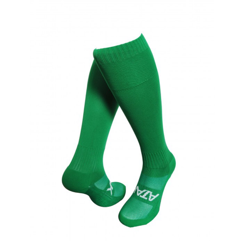 ATAK Plain Sports Socks - Green JNR