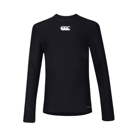 Canterbury Thermoreg Base Layer - Black JNR