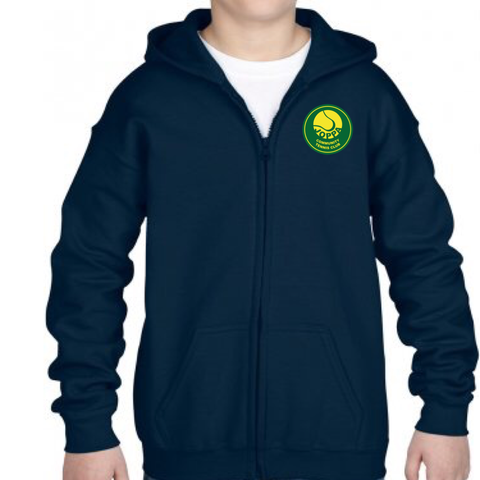 Joppa Tennis Club Zip Hoody - JNR