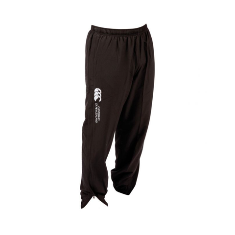 Cuffed Hem Stadium Pant - Black