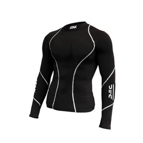 ATAK Compression Base Top -  Black JNR