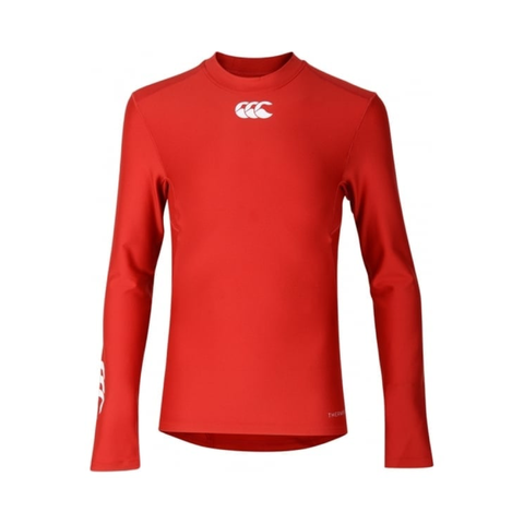 Canterbury Thermoreg Base Layer - Red JNR