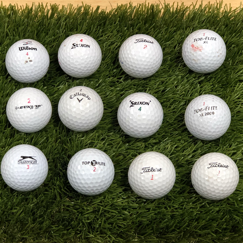 """Experienced"" Golf Balls (doz.)"