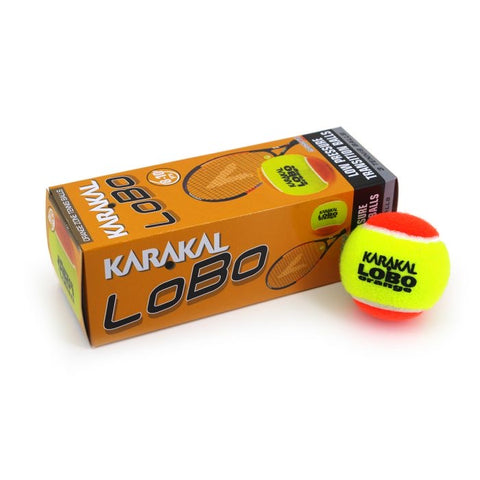LOBO Orange Zone Tennis Ball (3)