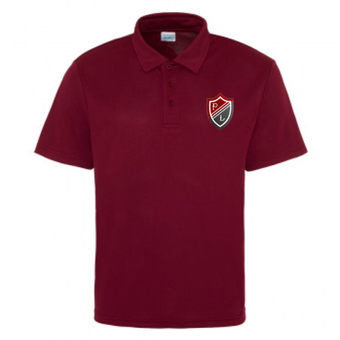Preston Lodge HS Sports Polo - JNR Maroon