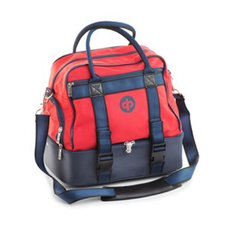 Midi Bag - Red/Navy