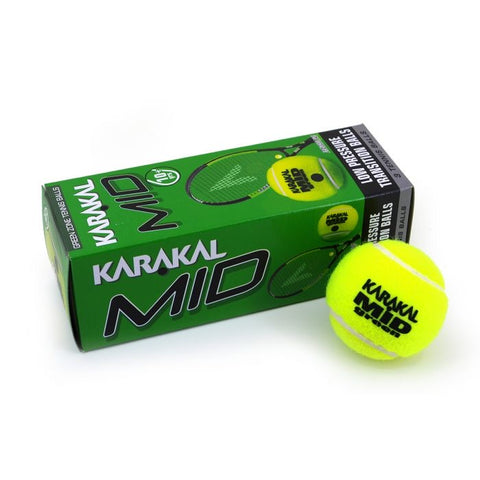 Karakal Mid Green Zone Tennis Balls (3)
