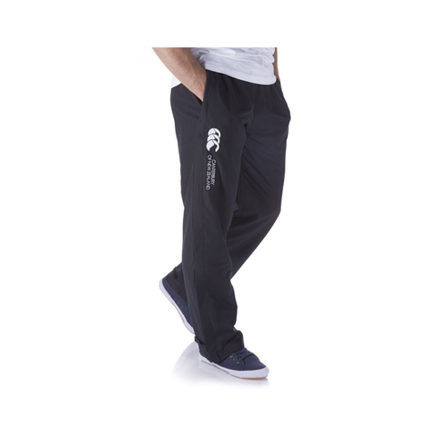 MENS Open Hem Stadium Pant - Black