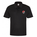Preston Lodge HS Poly Sports Polo - SNR Black