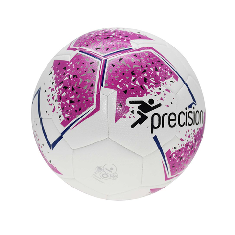 Fusion IMS Training Football - White/Pink/Purple/Grey