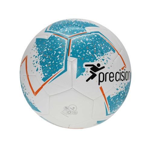 Fusion IMS Training Football - White/Cyan/Orange/Grey