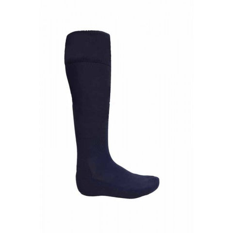 ATAK Plain Sports Socks - Navy JNR