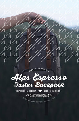 Alps Espresso Taster Backpack (3 X 250g)