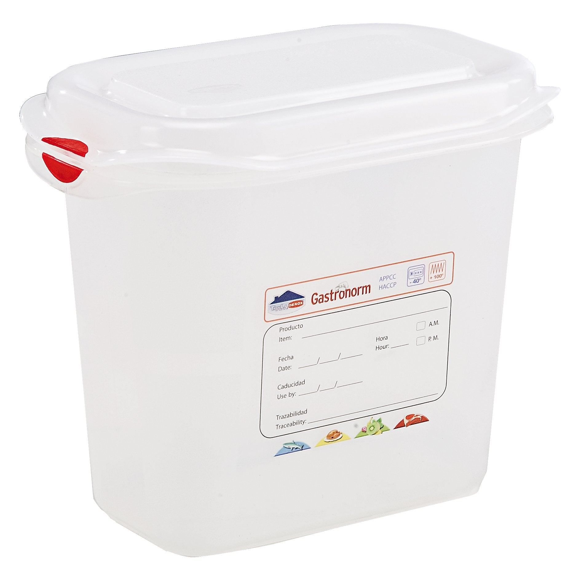 GN Storage Container 1/9 150mm Deep 1.5L