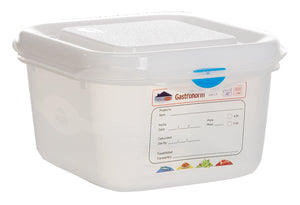 GN Storage Container 1/6 100mm Deep 1.7L