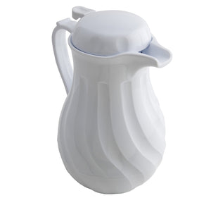 Insulated Beverage Server White 64oz 2Ltr