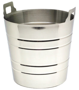 S/St.Wine Bucket With Integral Handles