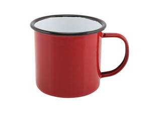 Enamel Mug Red 36cl/12.5oz
