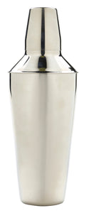 S/St.Cocktail Shaker 25cm Tall 750ml