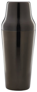 Gun Metal Parisian Cocktail Shaker 70cl