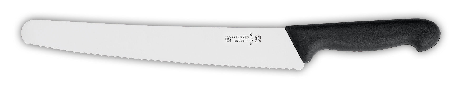 "Giesser Curved Pastry Knife 9 3/4"" Serr."