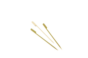 "Bamboo Gun Shaped Paddle Skewers 18cm/7"" (100pcs)"