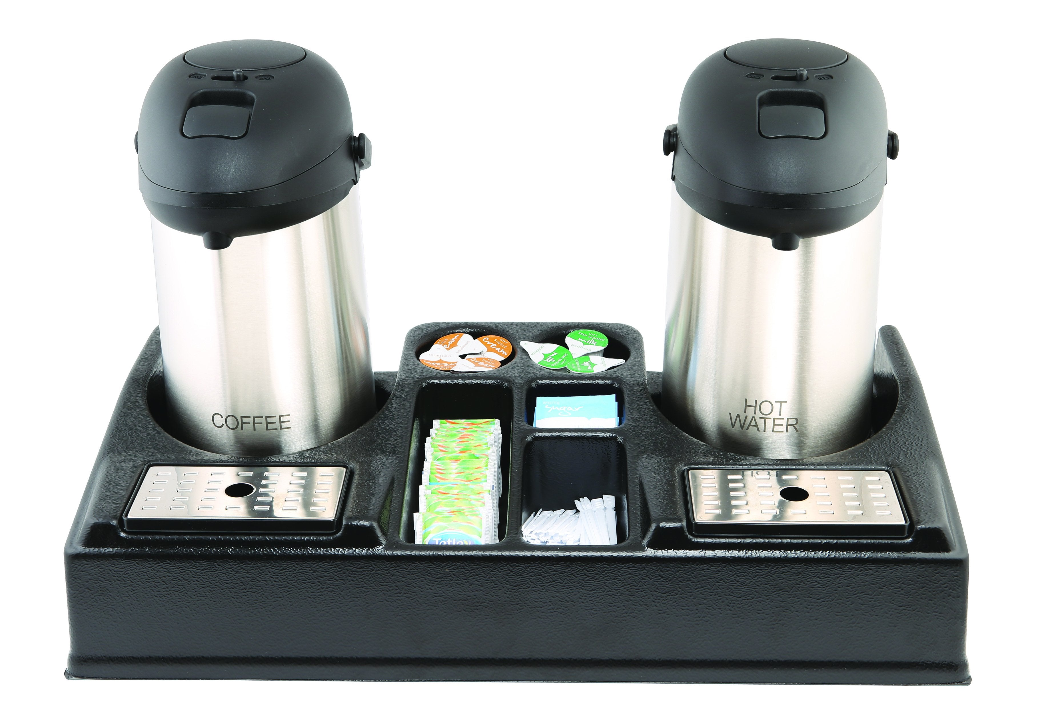 Genware Double Beverage Station
