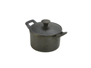 Mini Cast Iron Casserole Dish 10 x 6cm
