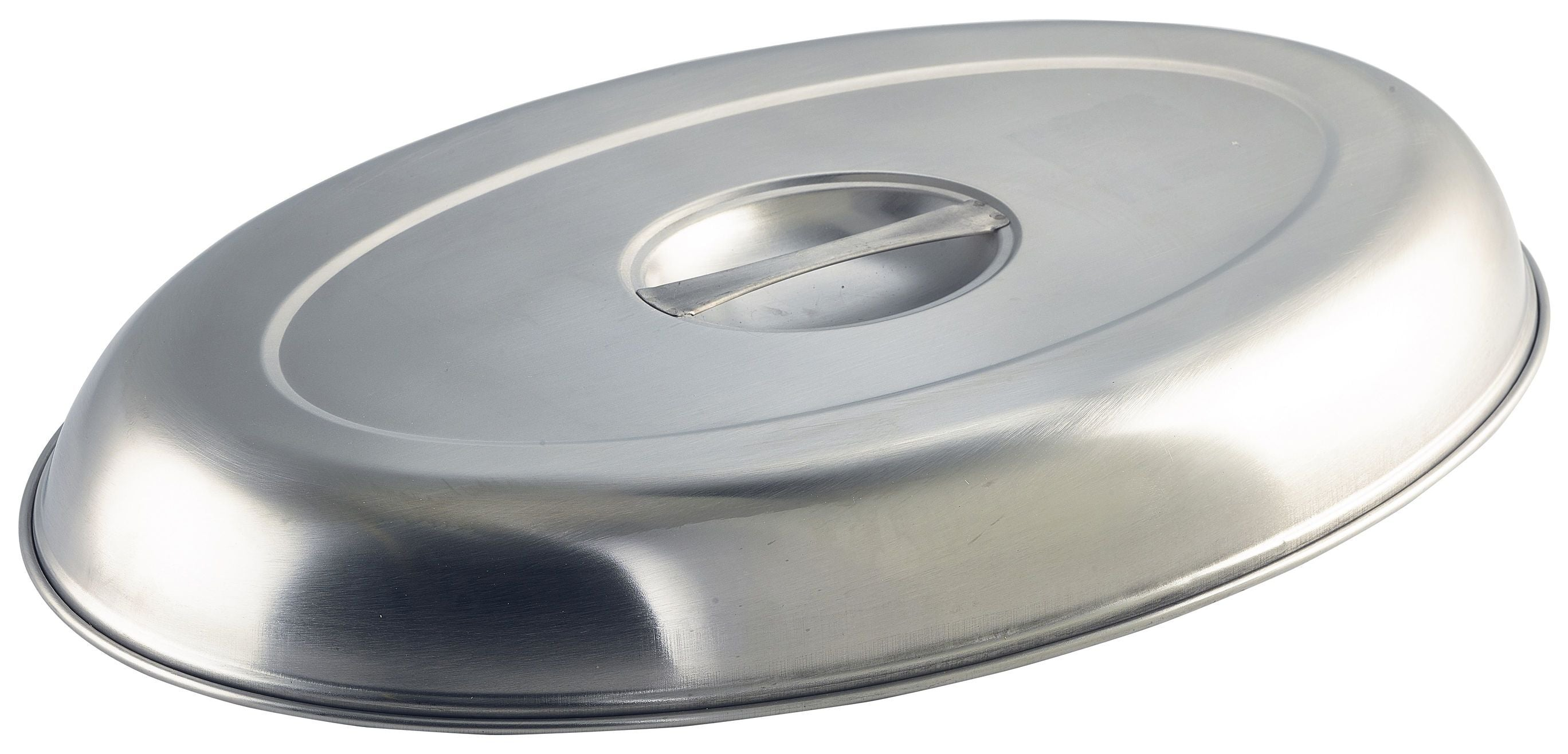 GenWare Stainless Steel Cover For Oval Vegetable Dish 25cm/10""