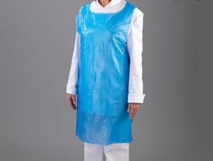 Disposable PVC apron (pack 50)