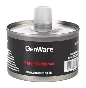 Gen-Heat DEG Adj Heat Chafing Fuel 6 Hour Can
