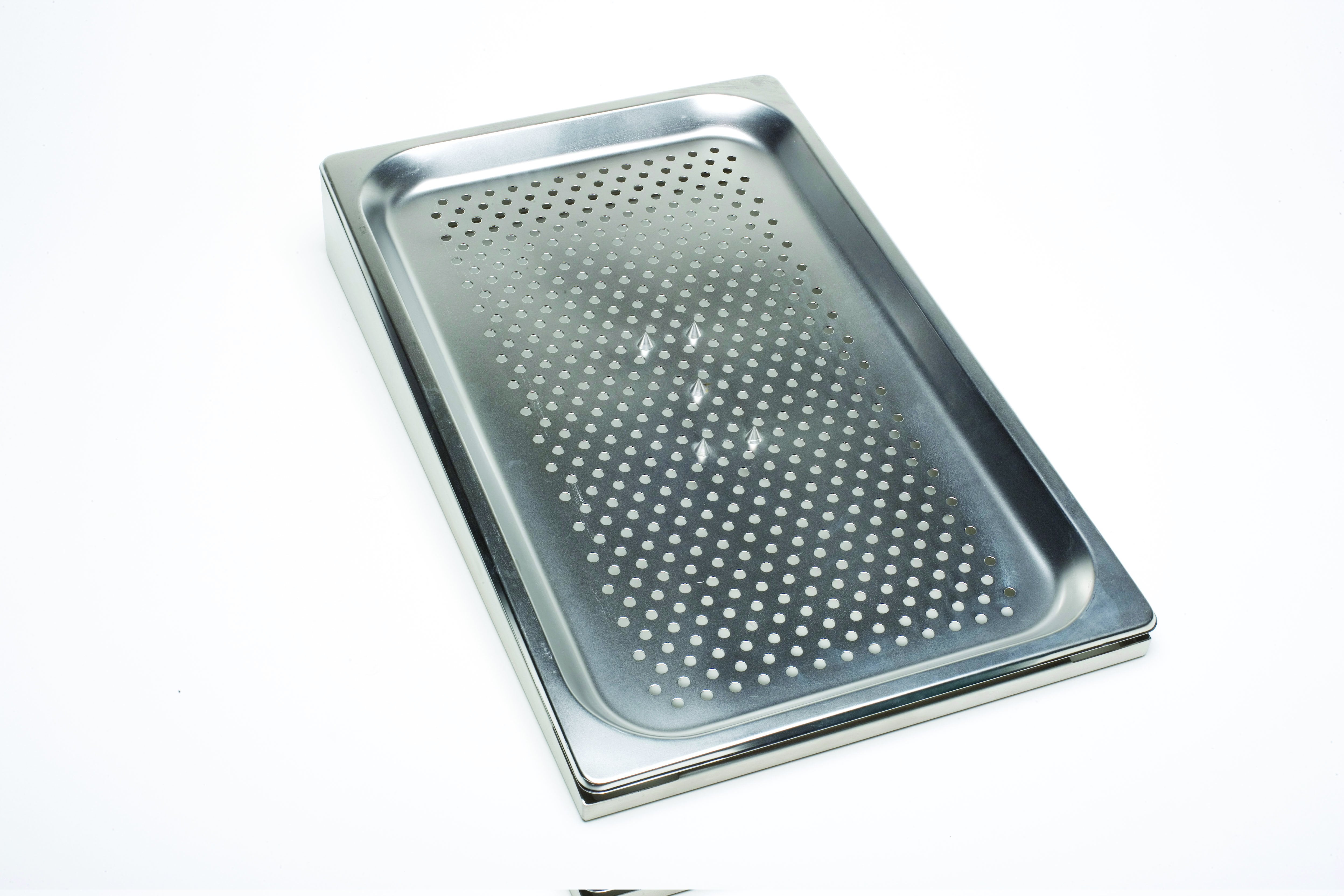 St/St Gastronorm  1/1- 5 Spike Meat Dish 25mm