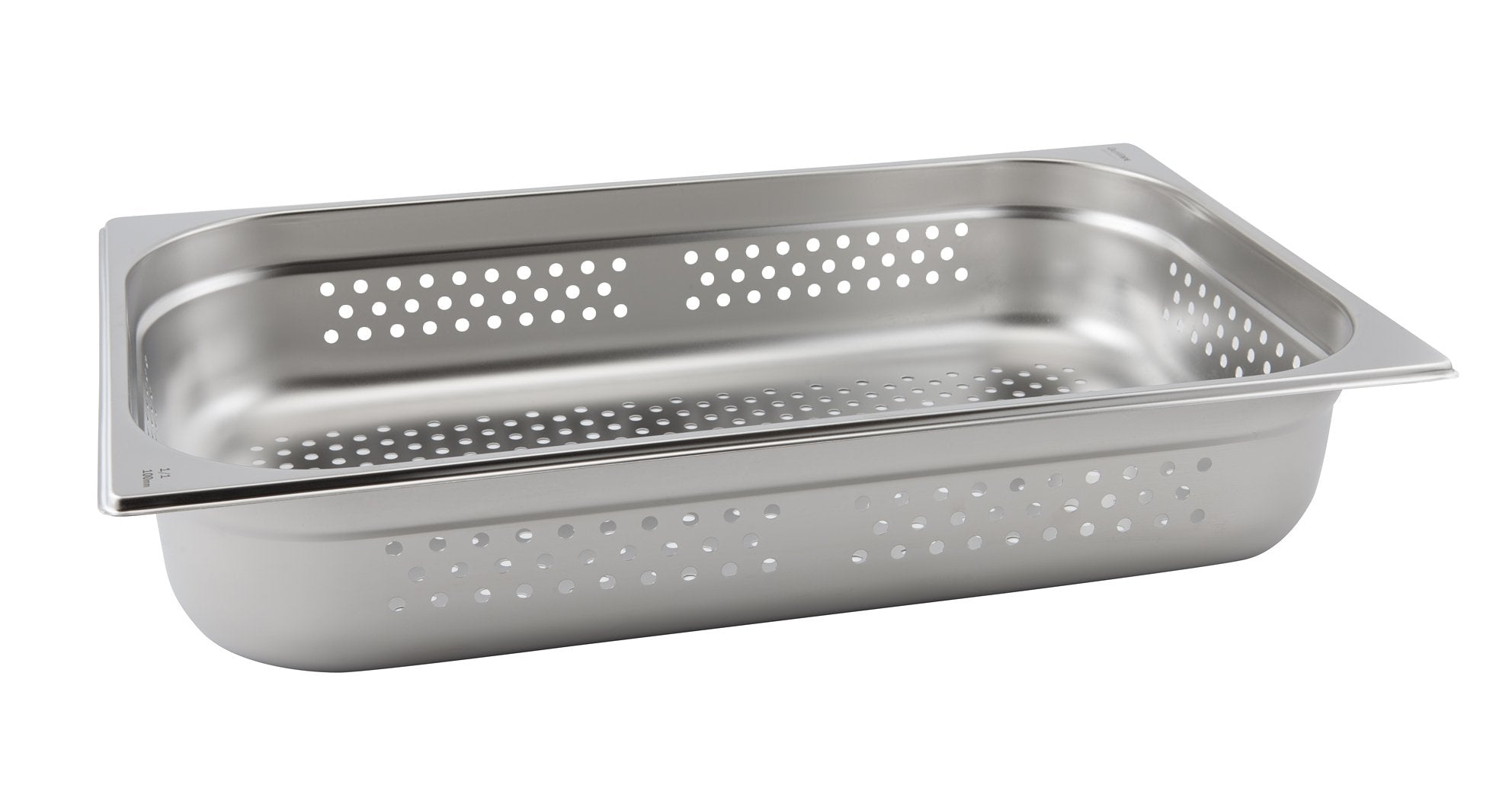 Perforated St/St Gastronorm Pan 1/1 - 40mm Deep