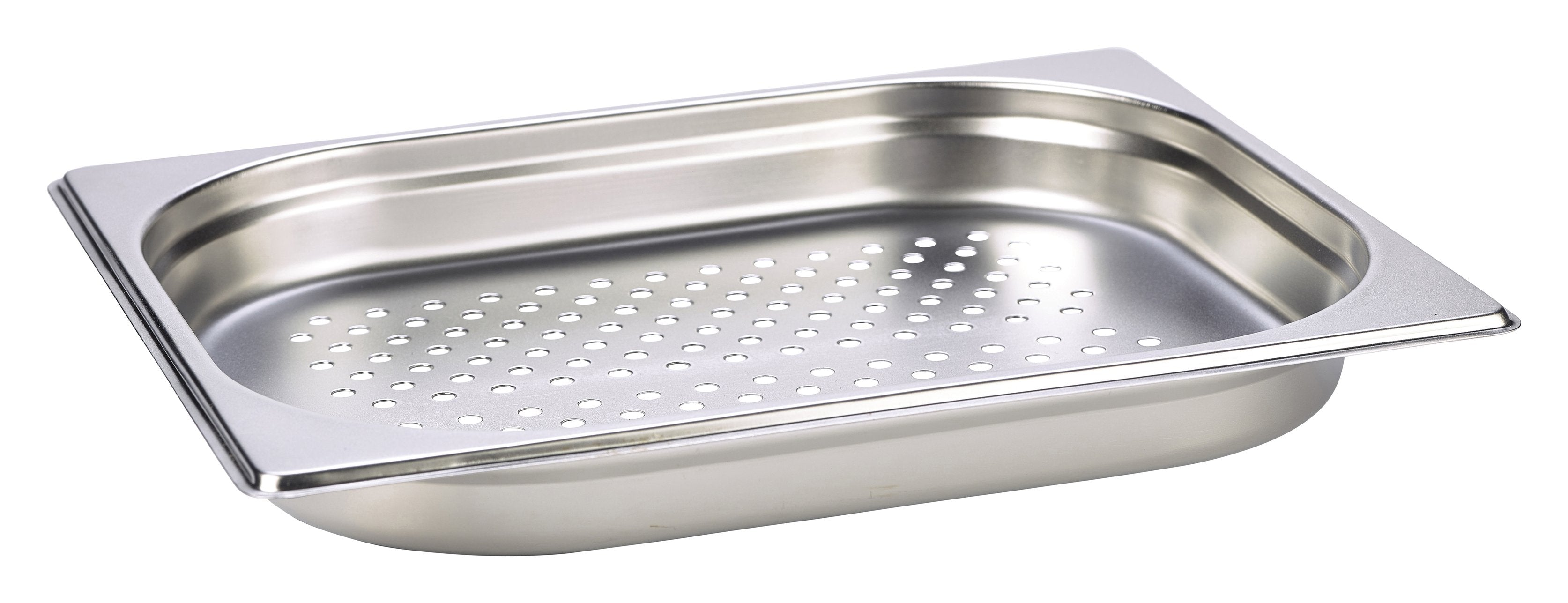 Perforated St/St Gastronorm Pan 1/2 - 40mm Deep