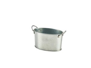 Galvanised Steel Serving Bucket**6 pack**12.5 x 8.5 x 6.5cm
