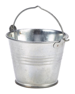 Galvanised Steel Serving Bucket 7cm 12 pack Dia 4oz