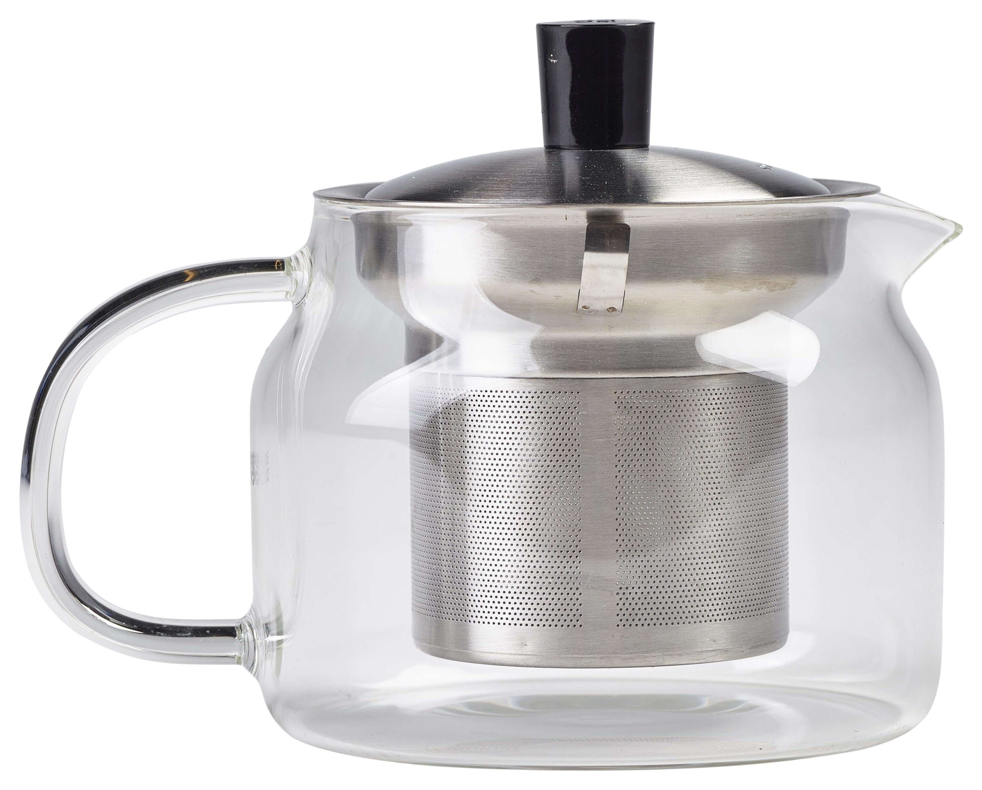 Glass Teapot with Infuser 47cl/16.5oz