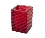 'Highlight' Candle Holder Red (6Pcs)