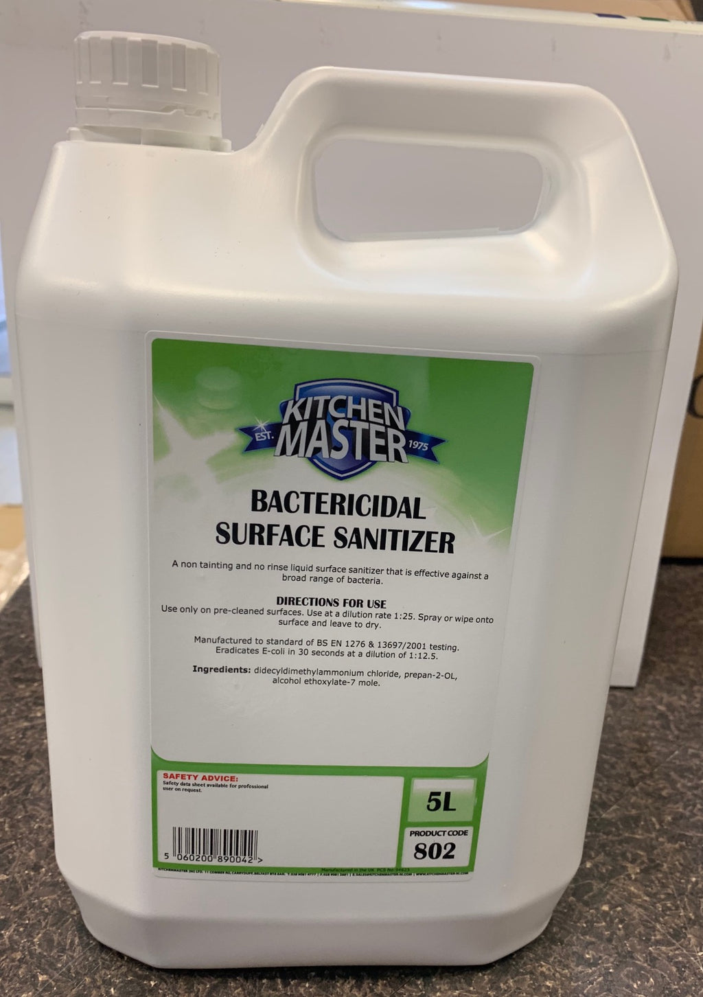 802 5LT Surface sanitizer