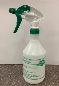 802 Printed bottle for surface sanitizer