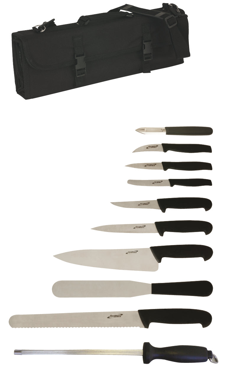 10 Piece Knife Set + Knife Case