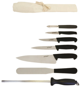 7 Piece Knife Set + Knife Wallet