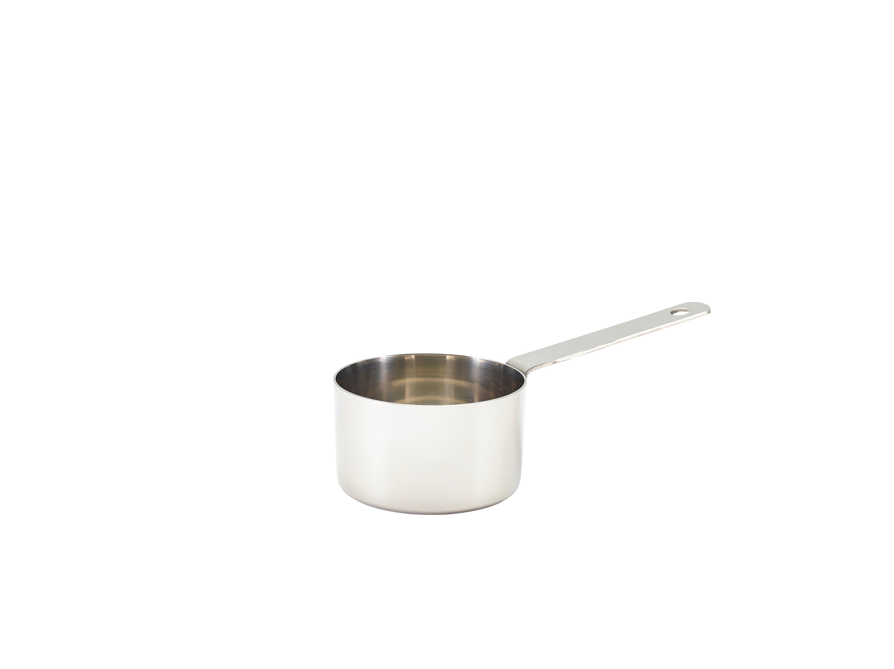 Mini Stainless Steel Saucepan 7.2 x 4.7cm 6 pack
