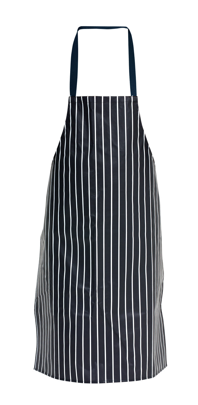 PVC Butchers Stripe Waterproof Apron 72X100cm