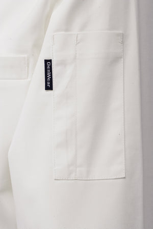 Standard Jacket (Long Sleeve) White